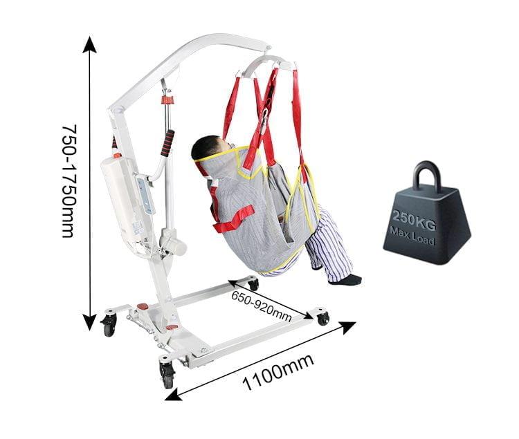 Medical lift dimensions